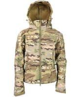 Kombat UK BTP Patriot Soft Shell Jacket - Kids